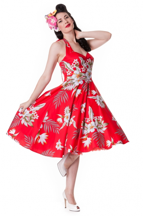 Alika Dress Red