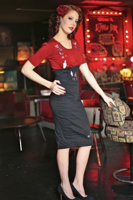 Cocktail Skirt Black