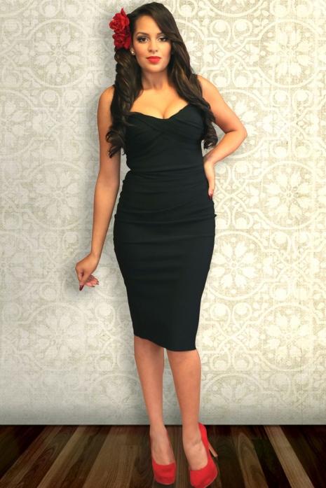 Stop Staring Million Dollar Baby Dress Black