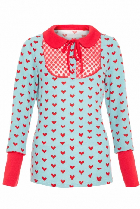 Love Heart Sweater Girl