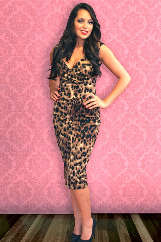 Leopard diva dress dresses pinup empire clothing for Diva attire