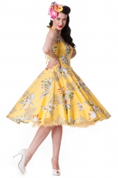 Alika Dress Yellow