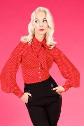 Kami-Rose Tie Blouse