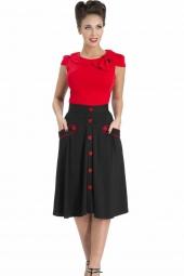 Black Rockabilly Skirt
