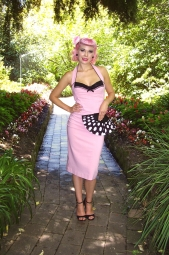 Lady Luck Dress Pink