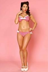 Miss Picnic 2- PC Bikini Red